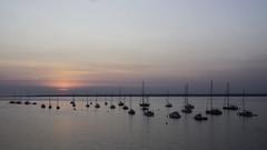 Solent Sunset (Charliebubbles) Tags: olympusem5mkii olympus1250mmez hampshire solent photoshopcc landscape seascape sunset travel 2019