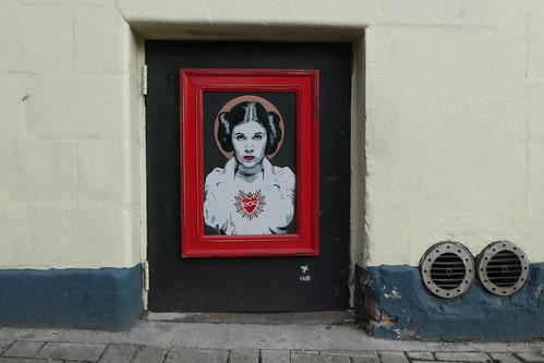 Pegasus stencil, Islington