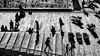 Silhouette Time III (drasphotography) Tags: monochrome monochromatic blackandwhite schwarzweis bianconero drasphotography nikkor2470mmf28 nikonphotography d810 helsinki people shadow