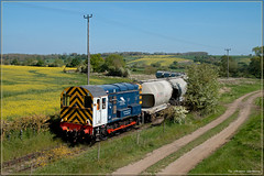The Ultimate Workhorse (Resilient741) Tags: class 08 shunter shunt loco diesel locomotive pca wagon castle cement ketton 6f93 pole photography uk united kingdom england 08809
