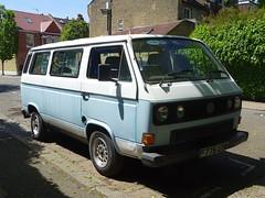 1989 Volkswagen Transporter Camper Van (Neil's classics) Tags: vehicle 1989 volkswagen transporter camper van t3 t25 vw camping motorhome autosleeper motorcaravan rv caravanette kombi mobilehome dormobile