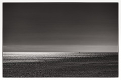 the lonely sea (Daz Smith) Tags: dazsmith fujifilmxt3 xt3 fuji people uk monochrome blancoynegro blackandwhite mono coast sea sky waves sail boat horizon landscape