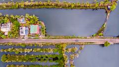 Backwaters - Kollam, India (Kartik Kumar S) Tags: kollam kerala munroe island munroeisland backwaters india mavicair drone mavic dji landscape
