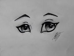Eyes (Ephraim Fowler) Tags: ephraim fowler eye manga anime drawing art