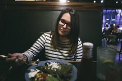 0403 Emily eats dinner at Green House