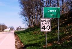 Detroit, Illinois (Cragin Spring) Tags: detroit detroitil detroitillinois smalltown pikecounty illinois il midwest unitedstates usa unitedstatesofamerica sign rural road