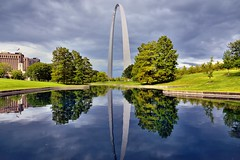 Postcards (Gateway Arch National Park) (thor_mark ) Tags: 192meters 630feet azimuth31 building camranger canvas capturenx2edited cloudreflectionsonwater cloudy colorefexpro day2 gatewayarch gatewayarchnationalpark gatewaytothewest glassreflections glasslikereflections grassyarea grassyfield grassymeadow ideasigotfromothers imagecapturewithcamranger jeffersonnationalexpansionmemorial lakereflectionsonwater landscape lookingne meadows miscellaneous mostlycloudy nikond800e northamericaplains outside overcast ozarkhighlands ozarkplateau pond portfolio project365 reflection reflectionpond reflections reflectionsonpond reflectionsonwater steelcatenaryarch talleststructureinmissouri travel trees triptogatewaymammothcuyahoganationalparks waterreflections worldstallestarch missouri unitedstates
