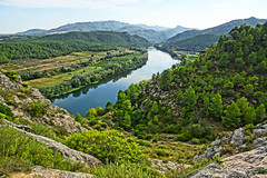 Rio Ebro downstream ©twe2014☼ (theWolfsEye☼) Tags: thewolfseye miravet katalonien catalonia spain spanien ebro river fluss rioebro inexplore breathtakinglandscapes