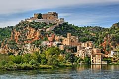 Miravet with the castle ©twe2014☼ (theWolfsEye☼) Tags: thewolfseye miravet spain spanien katalonien catalonia knightstemplar tempelritter rioebro ebro