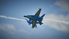 Just passing (Valley Imagery) Tags: andrews joint air base hornet fa18 classic blue angels airshow close pass sony a99ii 70400gii