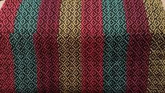 Top is underside of fabric. Bottom is topside. (Sweet Annie Woods) Tags:
