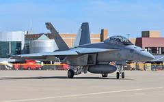 Boeing.FA-18F Super Hornet.168929.NJ-165.VFA-122.KAMA.2017-10-20 (Amarillo Aviation) Tags: unitedstatesnavy kama rickhusbandinternationalairport amarillo texas location aviation fixedwing boeing fa18fsuperhornet vfa122flyingeagles