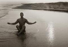 Nudity (Daniela Herrerías) Tags: nude nudity desnudo naked man beach male portrait