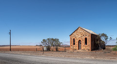 Country Church (RWYoung Images) Tags: rwyoung olympus em1mk11 church mountbryaneast southaustralia rural abandoned empty country
