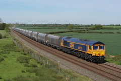 66771 14-04-19 (IanL2) Tags: gbrf class66 66771 marstonvale bedfordshire railways trains emd