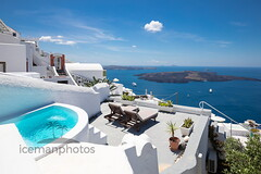 White and blue (icemanphotos) Tags: santorini sea horizon beautiful pool loungers blue white architecture relaxing nature island relax recreation town journey europe greek sky steps lifestyle cruise luxury travel landscape thira beach mediterranean outdoor background resort landmark tourism scenery scenic destination stairs perfect cyclades oia exterior holiday romantic hotel season vacation greece summer seascape trip beauty
