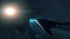 Cutting Through Space (Rzvs) Tags: cloudimperium cinematic screenshot pcgaming pc space starcitizen robertsspaceindustries alpha anvil arrow gaming ingame flying 35 sim rsi
