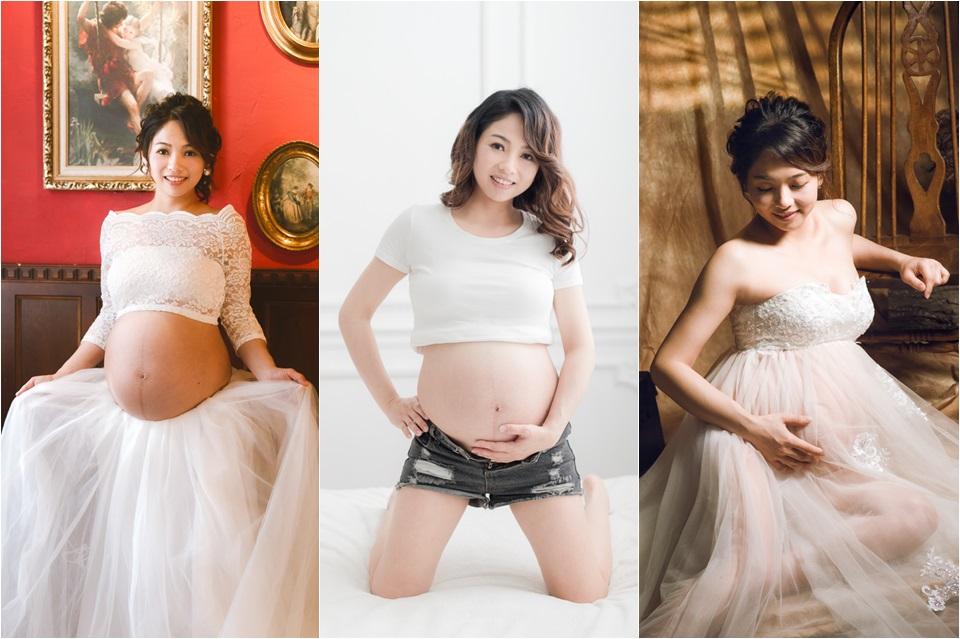 台南孕婦寫真 甜美孕媽咪小芳 001