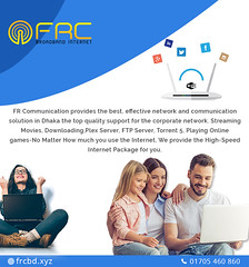 High-Speed Broadband Service Provider in Sirajganj (frcommunication14) Tags: internet highspeedinternet network broadband fastinternet wireless