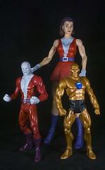 (LegionCub) Tags: doompatrol robotman negativeman elastigirl dcclassics dcuniverse dccomics silverage actionfigures toys mattel teentitans justiceleague
