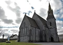 ballyvaughnchurch2 (Shannon O'Haire) Tags: ballyvaughn church churches clare druidstones graveyardphotography graveyards cemeteries religiousstatues religiousinstitutions cross paganireland circlegrave memorials burren ireland eire waw wildatlanticway