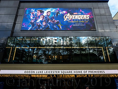 Odeon Leicester Square 1419 (stagedoor) Tags: london westminster leicestersquare odeon avengersendgame city glc greaterlondon londonboroughofwestminster capital england uk building architecture olympus copyright omdem1mkii theatre theater teatro cinema cine kino