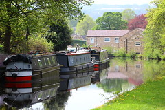 More Canal Scenes (jdathebowler Thanks for 4 Million + views.) Tags: leedsliverpoolcanal barges canalandrivertrust canal canaltowpath canalsystem westyorkshire calverley canaltransport waterway waterscape waterside