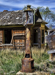 May Idaho (Pattys-photos) Tags: may idaho neglected decayed abandoned broken ramshackle dilapidated derelict fallingdown pattypickett4748gmailcom pattypickett gaspump