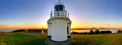 Crowdy Head Lighthouse at Sunset, Crowdy Head, Mid North Coast, NSW (Black Diamond Images) Tags: crowdyheadlighthouse sunset crowdyhead midnorthcoast nsw australia australianlighthouses lighthouse crowdybaynationalpark crowdyheadnationalpark barringtoncoast landscapes appleiphonex iphonexbackcamera iphonexpanorama appleiphonexpanorama appleiphone iphone panorama iphonepanorama manningvalley