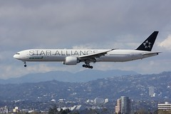 B777 B-16715 Los Angeles 27.03.19 (jonf45 - 5 million views -Thank you) Tags: airliner civil aircraft jet plane flight aviation lax los angeles international airport klax eva air boeing 777 b16715 star alliance livery