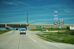 TX45 TX130 North Exit to US290 Signs (formulanone) Tags: tx45 tx130 us290 290 130 sr45