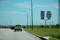 US290 East and Toll 290 Signs (formulanone) Tags: us290 290 toll290 sum580