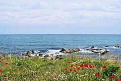 Στεριά, θάλασσα, ουρανός (ritvank) Tags: στεριά θάλασσα ουρανόσ πράσινο μπλε land sea sky green blue landscape outdoor τοπίο ύπαιθροσ