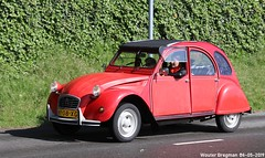 Citroën 2CV 1985 (XBXG) Tags: ny08xg citroën 2cv 1985 citroën2cv 2pk eend geit deuche deudeuche 2cv6 red rood rouge citromobile 2019 citro mobile carshow expo haarlemmermeer stelling vijfhuizen nederland holland netherlands paysbas vintage old classic french car auto automobile voiture ancienne française france frankrijk vehicle outdoor