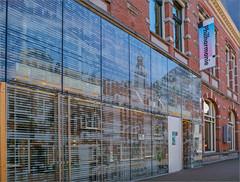 Fotothema: Fassaden / Photo Theme: Facades (ludwigrudolf232) Tags: bauwerk häuser fassaden spiegelung glas leiden niederlande