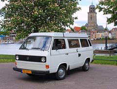 Volkswagen T3 Bus Westfalia  06-1982  TD-637-V (harry.pannekoek) Tags: volkswagen t3 bus westfalia 061982 td637v