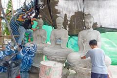 Wat Rong Suea Ten..Blue Temple Thailande album (geolis06) Tags: geolis06 asia asie thaïlande chiangrai watrongsueaten templebleu bluetemple olympusbouddhismebouddhabuddhismreligionpilgrimpélerinprièreprayerstatueolympus penf