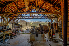 Mine Stamp Mill (Jeff Sullivan (www.JeffSullivanPhotography.com)) Tags: mine stamp mill historic mining ghost town esmeralda county nevada usa abandoned rural decay photography nikon d850 photos copyright jeff sullivan may 2019 hdr photomatix