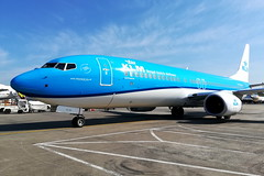 Flying Blue (PH-BCH) (Fraser Murdoch) Tags: klm royal dutch airlines kl boeing 737 737800 b737 b738 b737800 738 phbch new ng nextgen next generation netherlands ams amsterdam eham glasgow international airport egpf ramp swissport scotland sun summer huawei p8 lite 2017 aviation aircraft plane fraser murdoch photography sky holland ph ch