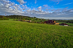 Velka Lhota (Radebe27) Tags: valassko wallachian zlinskykraj vsetinsko krajina landscape mraky sky ceskarepublika czechrepublic sony nex6 jaro spring