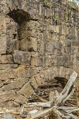 Ruins at Leira (DSC_0055 vk) (Villi Kristjans) Tags: vilmundur vk villi vkphoto kristjansson kristjans kristjáns kristjánsson old outdoor trip travel tree trees summer sky digital d3200 color colour nikon noregur norway norge norsk water river waterfall ruins abandoned stones leira oppland akershus