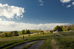 Yesterday. (Jakob Arnholtz) Tags: arnholtz denmark rural spring nature farm odsherred landbrug skyer clouds veddinge bakker veddingebakker