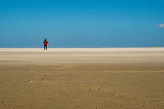 Alone on Rømø (ronny.brisaert) Tags: rømø beach sand