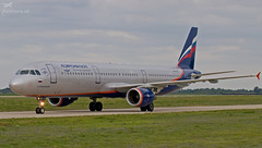 VP-BTG Aeroflot - Russian Airlines Airbus A321-211 (airliners.sk, o.z.) Tags: vpbtg aeroflot russian airlines airbus a321211 airlinerssk iihf championship russia hockey team