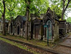 Montmartre cemetery Paris. (S.K.1963) Tags: montmartre cemetery paris graveyard crypts trees olympus pen f 1240mm 28 pro