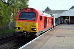 67010 - Wrexham General (Mark_Edwards_47769) Tags: class67 67010 wag 1w96 wrexhamgeneral db