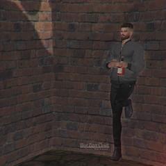 #74 (Leon Miranda) Tags: junk food slennessy bottle drinks new jacket galvanized jay joggings mitch chelsea boots black equal10