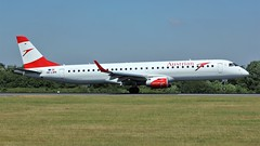 OE-LWK (AnDyMHoLdEn) Tags: austrian embraer lufthansagroup staralliance egcc airport manchester manchesterairport 05r