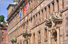 "Nürnberg 2019 - Fassade des ""Alten Rathaus"" in HDR (ahand grafX) Tags: bayern niederbayern nürnberg rathaus architektur fassaden"