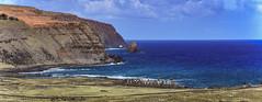 Moai at Ahu Tongariki and coastline, Easter Island (David D Moore) Tags: easterisland rapanui isladepascua moai ahutongariki ranoraraku anakena ahuakivi theseven birdmancult birdman birdmen orongo ahutahai koteriku tahai vaiure ranokau polynesia chile